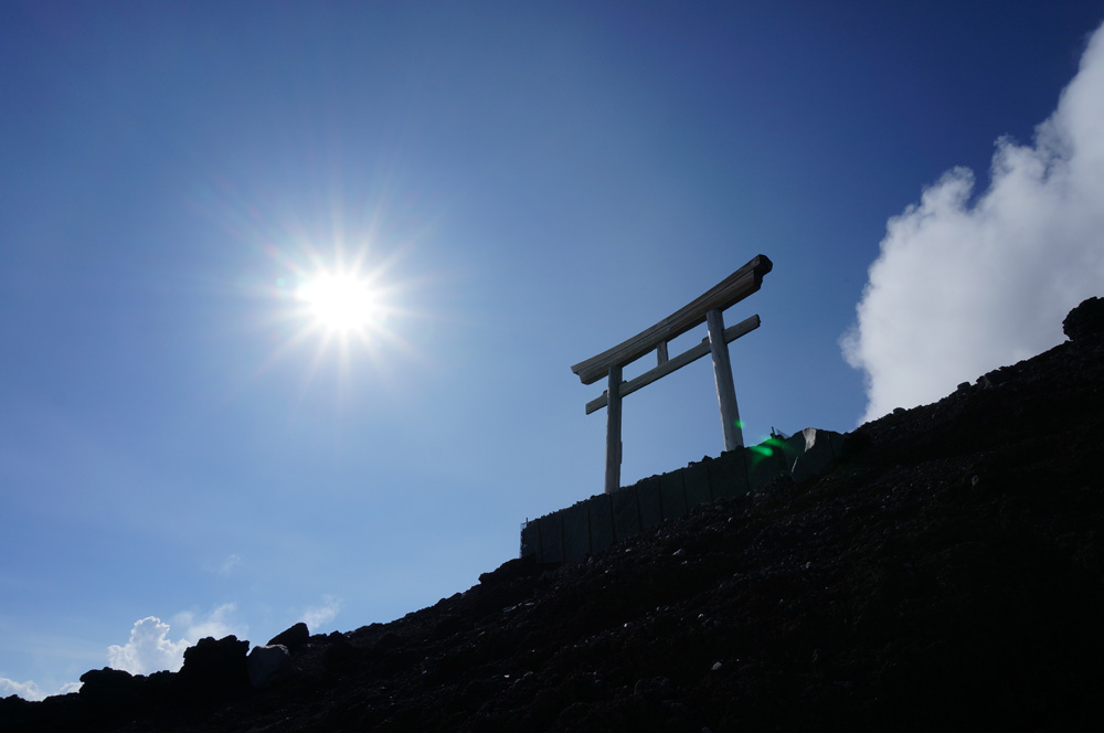 富士山9合目浅間神社