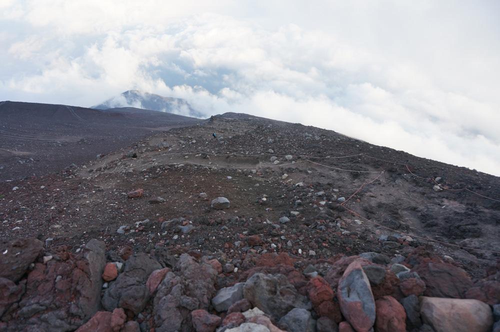 富士山9.5合目